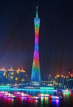 CantonTower in Guangzhou China