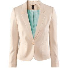 H Jacket ($23) ❤ liked on Polyvore
