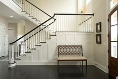 WALL PANELLING AROUND STAIRS