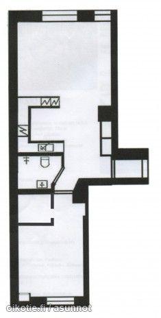 56m² Messeniuksenkatu 8, 00250 Helsinki Kerrostalo kaksio myynnissä | Oikotie 9733194