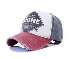 High quality cheap spring 2014 baseball caps sport outdoor fashion for men and women restore ancient ways do old baseball hat-in Baseball Ca...