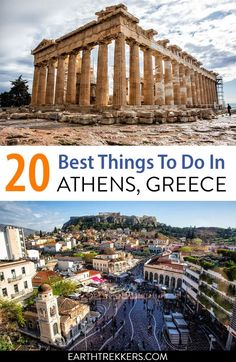 Athens Bucket List: 20 Best Things to do in Athens, Greece Athens Greece, Athens Acropolis, Parthenon, Mykonos Greece, Crete Greece, Santorini, Cool Places To Visit, Places To Travel, Travel Destinations