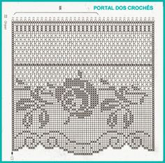 Скатерть-с-розами-схема-3 Crochet Lace Edging, Crochet Motifs, Crochet Borders, Crochet Art, Crochet Home, Crochet Patterns, Irish Crochet, Crochet Curtain Pattern, Crochet Curtains