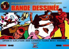 • L'âge d'or de la bande dessinée française est,   dans l'histoire de la bande dessinée Française,   la période qui va de 1930 à 1964   • Dans ce numéro 1,  les histoires originales  créées par les plus GRANDS AUTEURS du comics