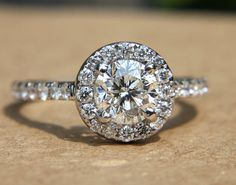 My engagement ring..... Love it!