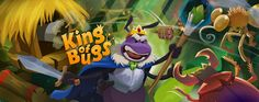 Banner for King of Bugs on Behance