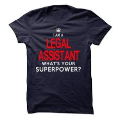 Im A/An LEGAL ASSISTANT - #gift box #housewarming gift. BUY NOW => https://www.sunfrog.com/LifeStyle/Im-AAn-LEGAL-ASSISTANT-33563911-Guys.html?68278