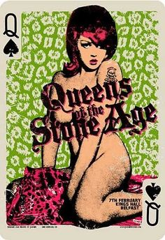 Queens of the Stone Age. (Poster)