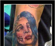 Zombie Tattoos design, ideas, zombie tattoos black and grey, photos, inspiration, zombie tattoos meaning, ink, coolest tattoos, small zombie tattoos, tribal zombie tattoos