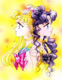 Artwork by Naoko Takeuchi Sailor Moon