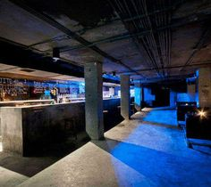Bomb Shelter Night Club #Shanghai #BombShelter #NightClub http://www.trendhunter.com/
