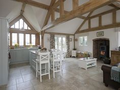 Hampshire Holiday Home - Border Oak - oak framed houses, oak framed garages and structures.