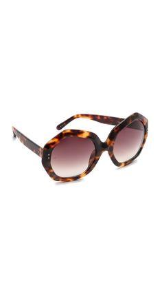 424de55731 Linda Farrow Luxe GEOMETRIC SUNGLASSES Linda Farrow Sunglasses