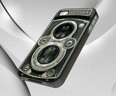 Vintage Camera Case Cover For IPhone 5 Case Iphone 4s, Iphone Cases, Camera Case, Plastic Case, Crystals, Cover, Prints, Creative Design, Vintage