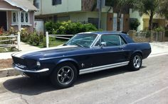 I found this gorgeous Vintage (1960's) Ford Mustang while cruising around town in Los Angeles California