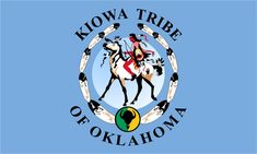 My Flag!  Kiowa tribe.  Now you KNOW I gotta Pin this!!