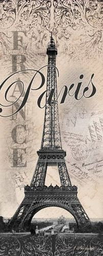 Eiffel Tower Global Vintage Travel Art Print Poster by Todd Williams, 8 x 20 Vintage Paris, Vintage Travel, Vintage Cafe, Beautiful Paris, I Love Paris, Montmartre Paris, Paris Paris, Paris Decor, Paris Theme