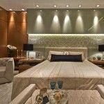 Inspire-se na decoração moderna e sofisticada deste lindo quarto!