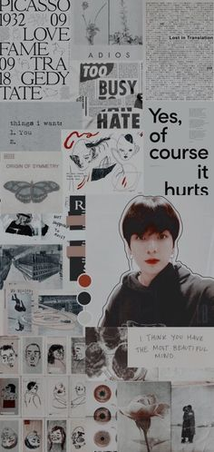 Bts Lost, Of Wallpaper, Wallpaper Lockscreen, Curious Cat, Lost In Translation, Jhope, Jin, Icons, Rose Gold Wallpaper