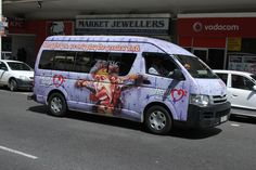 """Heart 104.9fm - taxi for the """"We're turning up the R'nB"""" campaign. By www.the-greenhouse.co.za"""