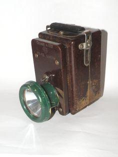 Vintage Soviet mining lantern. Carbolite от SouvenirFromUkraine
