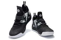 Adidas Harden Vol. 2 Basketball Shoes Black White