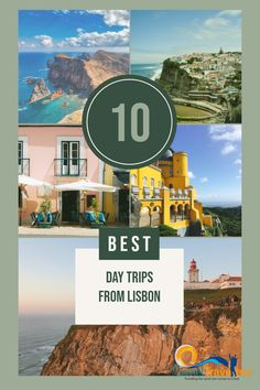 There's plenty of amazing day trips from Lisbon and we cover our personal top From rugged coastline of Cascais, Sintra mountains to Berlengas Islands. Visit Portugal, Portugal Travel, Cool Places To Visit, Places To Go, Day Trips From Lisbon, The Beautiful Country, Plan Your Trip, World Heritage Sites, Nice View