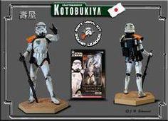 Kotobukiya - Sandtrooper Squad Leader : Orange - Artfx - 1/7