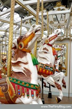 San Francisco's Beautiful Looff Carousel Horses