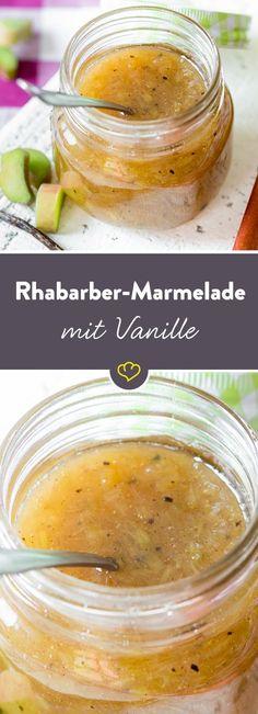 Es geht nichts über selbstgemachte Marmelade! Und erst recht nicht, wenn frischer Rhabarber drin steckt. Das beste. Du brauchst weniger als 30 Minuten.