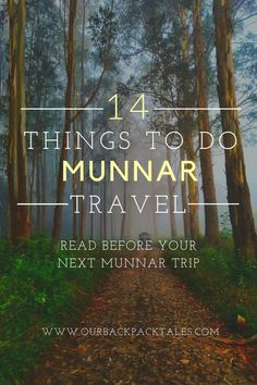 This list says top 14 things to do in Munnar. Watching the best sunrise to Sleeping in a Treehouse this list have all. Read Now! Kerala Travel, India Travel, Stuff To Do, Things To Do, Munnar, Top 14, Treehouse, Incredible India, Travel Guides