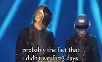 Daft Punk con hambre