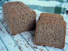 Pan de molde con harinas integrales de trigo y espelta y una completa mezcla de semillas tostadas y chía Cook Pad, Pan Bread, Food N, Sin Gluten, Vegan Desserts, Banana Bread, Biscuits, Tostadas, Keto