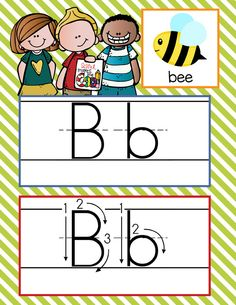 the BRAINY BUNCH Theme Classroom Decor / ABC Cards with illustrations / Handwriting / font: ABC print / JPEGS and PDF / ARTrageous Fun