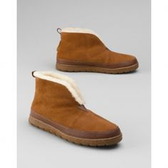 193972f4437b Eddie Bauer Men s Shearling Bootie Slippers in Ultimate Gift Guide 2012  from Eddie Bauer on shop.CatalogSpree.com