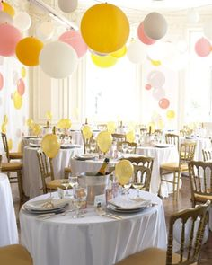 ballons party decoration