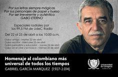 Invitación a escuchar el Homenaje al Colombiano más universal #Gabo #Unicartagena #UdeCRadio