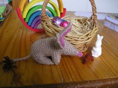 knitted bilby