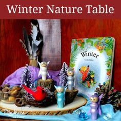 Winter Nature Table from Rhythms of Play