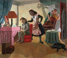 The Maids, 1987 - Paula Rego