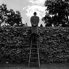 Rodney Smith: A. J. on Ladder, 1994
