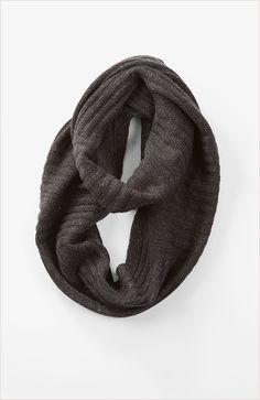 hats & scarves > Pure Jill ribbed infinity scarf at J.Jill