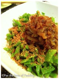 Green Bean Salad {Thai-Inspired}