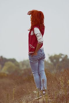 i really want a letter jacket. just cause i think they are cute!