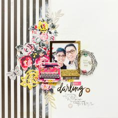 Love This Day > New Scrapbook Page using Shine