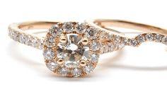 0.20 carat diamond centre  rose gold halo and a wedding band.  #wedding #weddingday #weddings#weddingideas #instawed #bride #brides #bridal#bridesmaids #vancity #engaged#engagement #isaidyes #vancitybuzz #love #follow#followme #weddinginspiration #bridalparty#marriage #wedspiration #diamondring#diamonds #engagementring #weddingdress#diamond #mywedding #vancouver #vancouverdiamonds #engagement