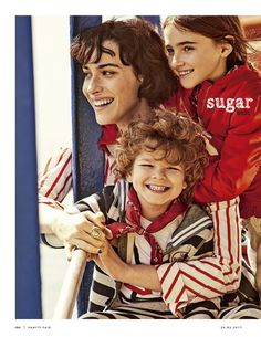 Daniel & Aroa from Sugar Kids for Vanity Fair Italia by Sergi Pons.
