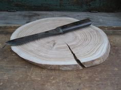I would love to turn this into a cutting board for the home or for camping.