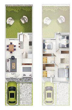 Sims House Design, Village House Design, Village Houses, Unique House Plans, Family House Plans, House Layout Plans, House Layouts, 30x40 House Plans, Casa Loft