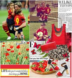 """""""Fernando Torres and his children ♥"""" by dora04 ❤ liked on Polyvore"""